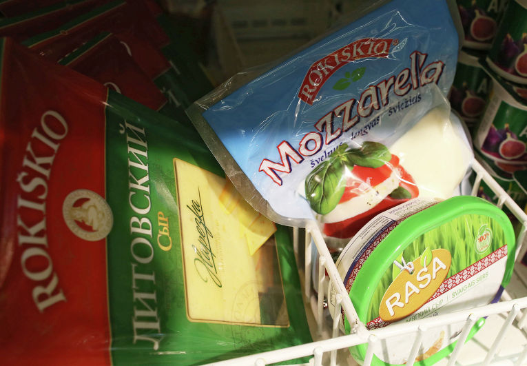 Сыр литовских производителей