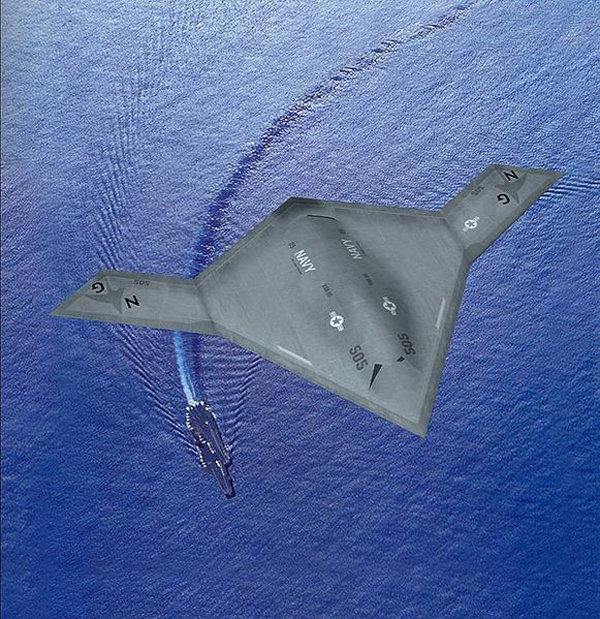 Разведывательно-ударный беспилотник X-47B