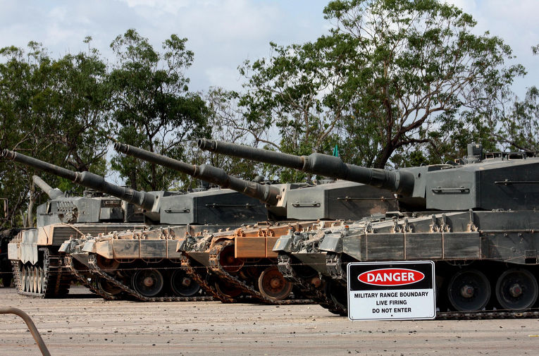 Немецкий танк Леопард 2