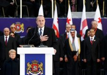 Новый президент Грузии Георгий Маргвелашвили вступил в должность. Фото с места события