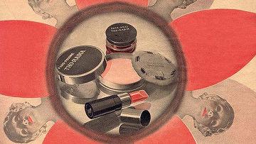 Реклама радиоактивной косметики Tho-Radia