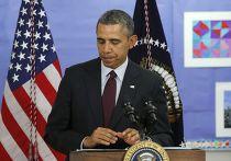 Барак Обама отвечает на вопросы журналистов по поводу ситуации на Украине