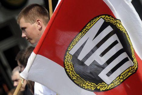 Сторонник Национал-демократической партии Германии