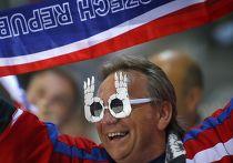 Болельщик из Чехии на Чемпионате мира по хоккею в Минске