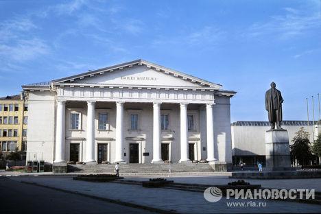 Здание Художественного музея Литвы