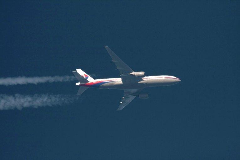 Самолет Boeing 777 компании Malaysia Airlines. Архивное фото