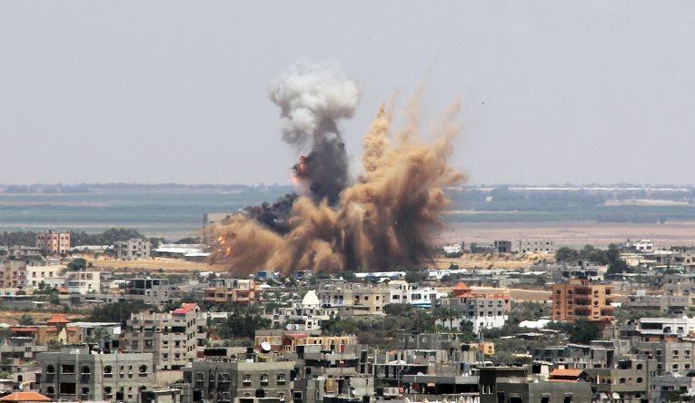 Авиаудар Израиля по сектору Газа