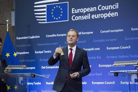 Дональд Туск вступает в должность председателя Европейского совета