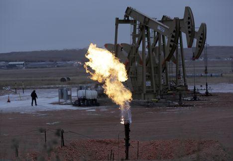 Газовое месторождение в Северной Дакоте