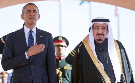 Барак Обама и король Саудовской Аравии Салман ибн Абдул-Азиз Аль Сауд