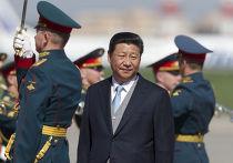 Председатель КНР Си Цзиньпин в аэропорту Внуково