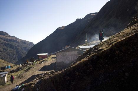 Деревня Хупон в Перу