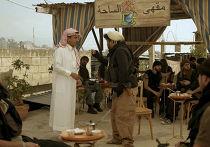 Нассер аль-Касаби в роли боевика «Исламского государства» в телефильме Selfie
