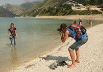 Туристы в Чечне