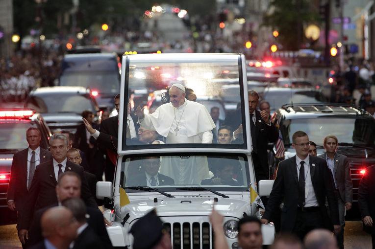 Папа Франциск в Нью-Йорке