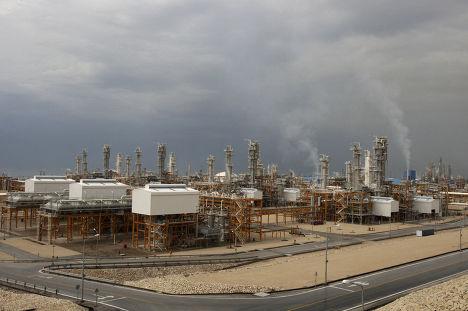 Газоперерабатывающий завод в Ассалуйе, Иран