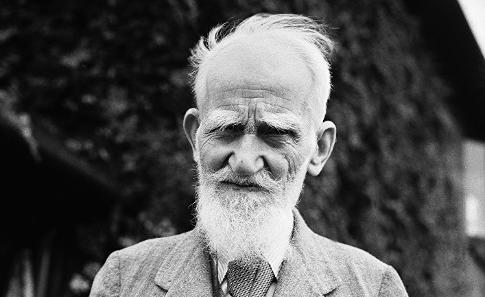 Ирландский драматург Джордж Бернард Шоу