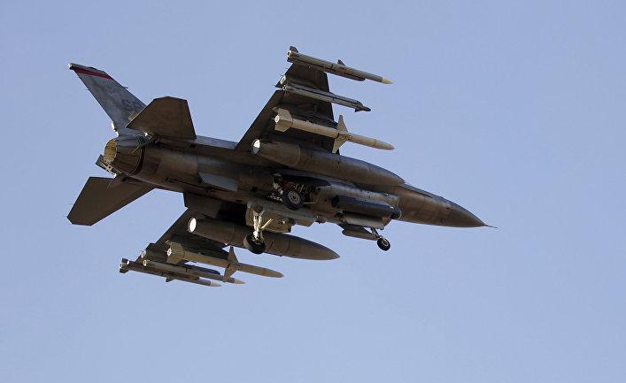 Турецкий истребитель F-16