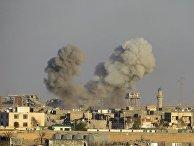 Авиаудар коалиции во главе с США по позициям «Исламского государства» в Ираке