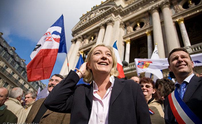 Лидер «Национального фронта» Марин Ле Пен