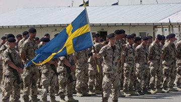 Шведские солдаты в Афганистане