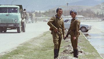 Советские воины в Афганистане