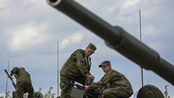 """Открытие Международного военно-технического форума """"АРМИЯ-2015"""""""