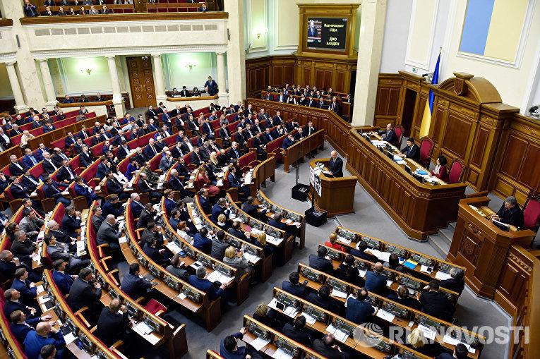 Вице-президент США Джозеф Байден выступил на заседании Верховной рады Украины