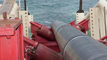 """Работы компании """"Газпром"""" по строительству газопровода"""