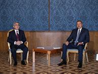 Встреча президентов Азербайджана и Армении