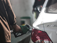 Автозаправка в городе Джидда в Саудовской Аравии