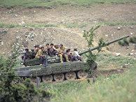 Военные действия в Мартакертском районе Нагорного Карабаха