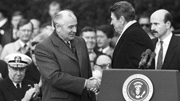 Официальный визит в США М. С. Горбачева
