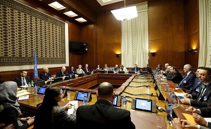 Переговоры по Сирии в Женеве, 29 января 2016