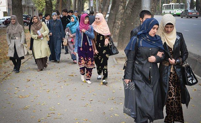 Города мира. Душанбе