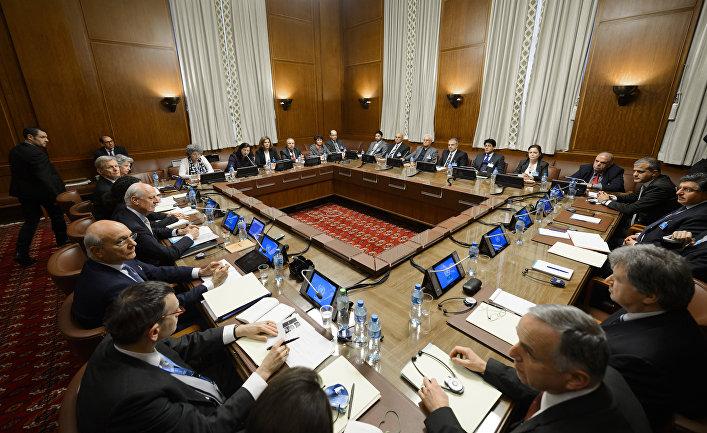 Во время переговоров по Сирии в отделении ООН в Женеве