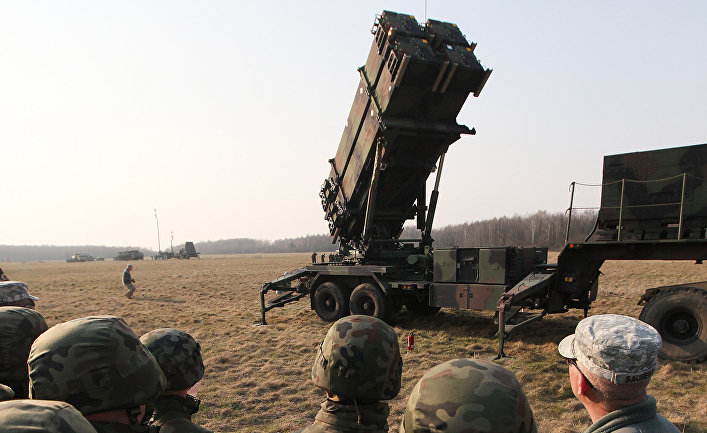ЗРК MIM-104 «Пэтриот» во время совместных американско-польских учений в Сохачеве