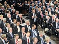 Участники Мюнхенской конференции по вопросам политики безопасности.