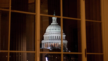Здание Конгресса США в Вашингтоне