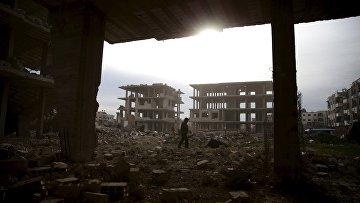 Руины города Джобара, недалеко от Дамаска