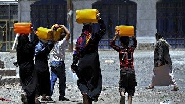 Нехватка питьевой воды в столице Йемена Сане