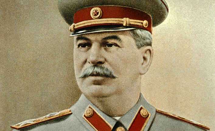 Репродукция фотопортрета Иосифа Виссарионовича Сталина