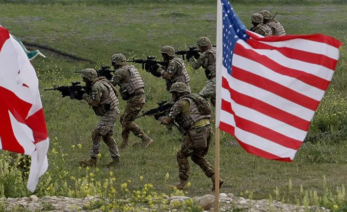 Грузино-американские военные учения в Грузии
