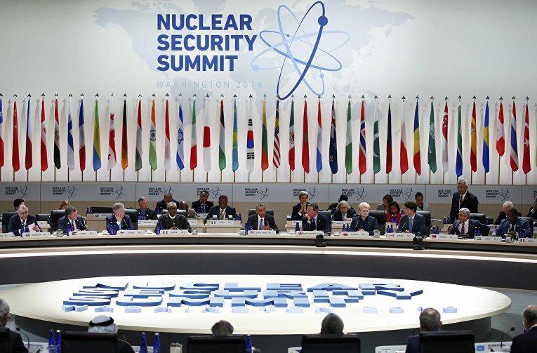 Итоговая сессия саммита по ядерной безопасности