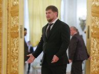 Глава Чеченской Республики Рамзан Кадыров в Кремле