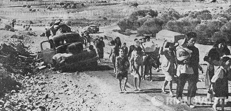 Арабо-израильский конфликт. Шестидневная война 1967 года