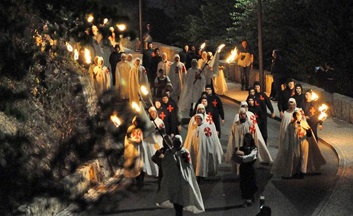 Фестиваль Тамплиеров - Средневековый Парад
