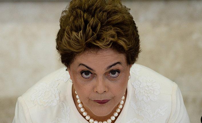 Президент Бразилии Дилма Роуссефф.