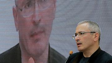 Бывший глава нефтяной компании «ЮКОС» Михаил Ходорковский
