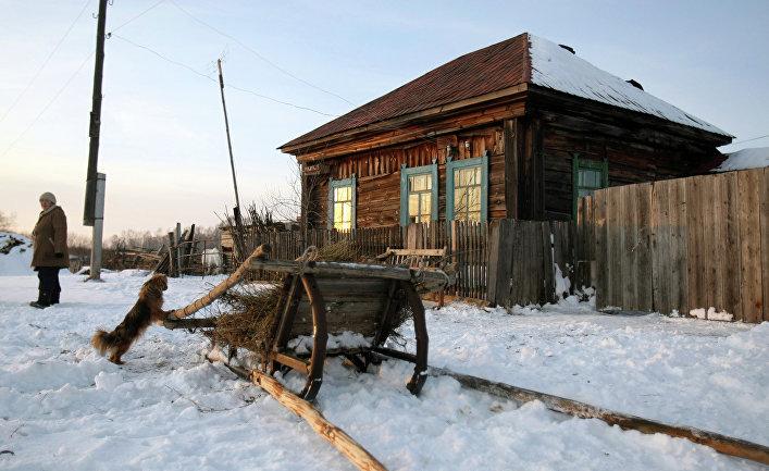 Исчезающая деревня Березовка Новосибирской области